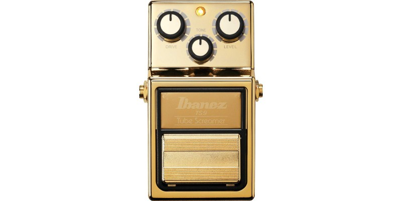Ibanez-TS9-Tube-Screamer-Gold-Limited-Edition-Front
