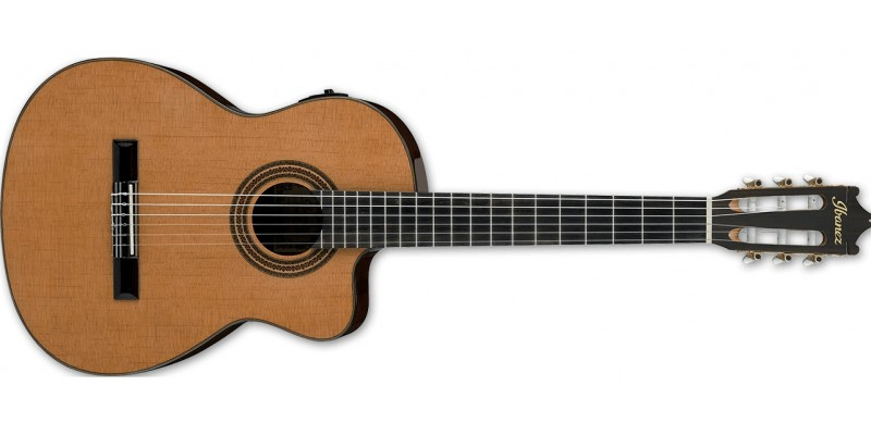Ibanez GA6CE Amber Electro Classical Guitar Front