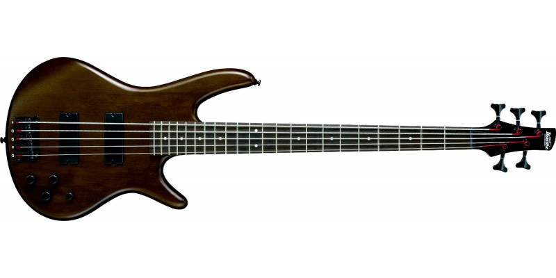Ibanez GSR205B-WNF Walnut Flat 5 String Bass