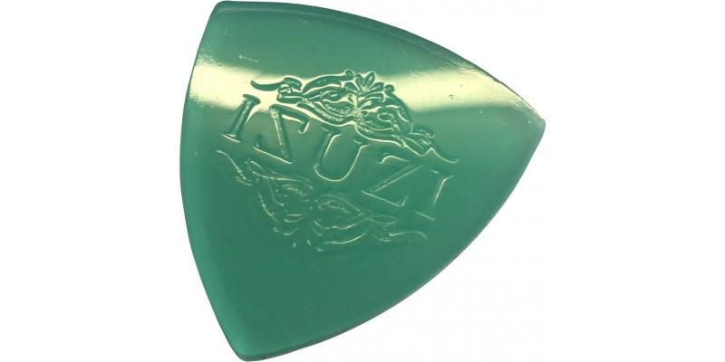 Isuzi-Custom-Silicone-Ukulele-Pick-Firm-Blue-Green Front