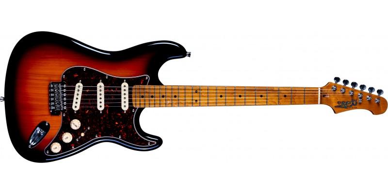 Jet-Guitars-JS-300-SSS-Sunburst-Front