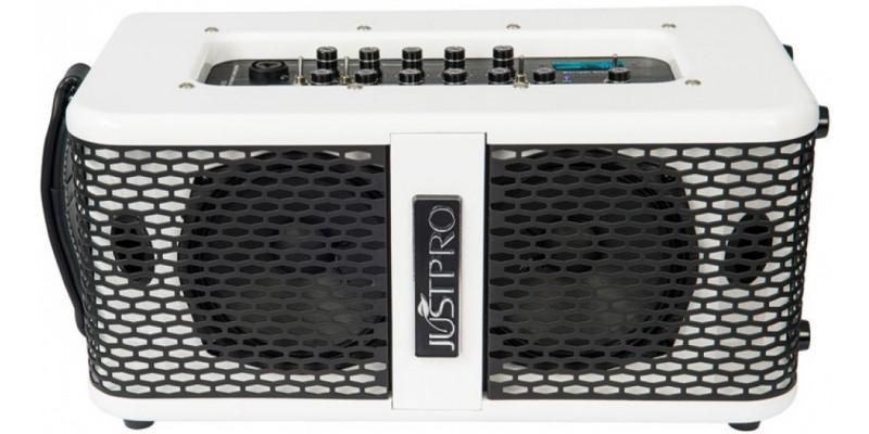 kinsman kaa70 justpro 70 watt battery powered acoustic amplifier  70 watt guitar amplifier red page158
