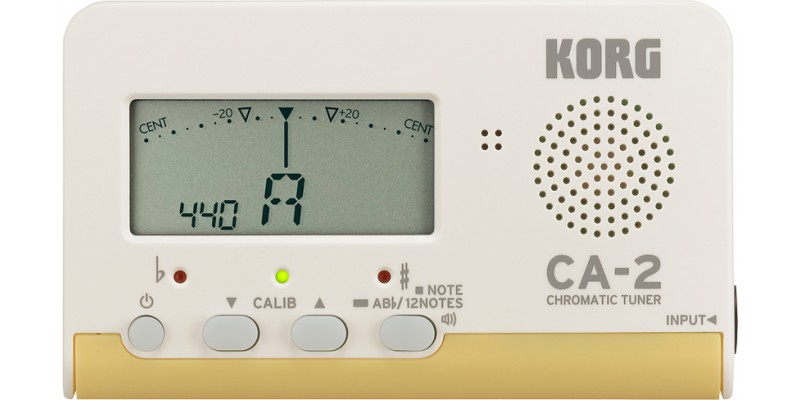how to use korg guitar tuner