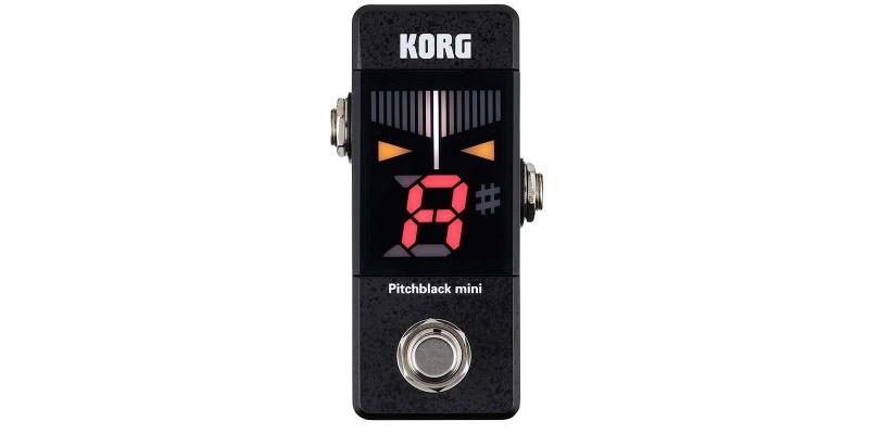 Korg Pitchblack Mini Tuner Pedal