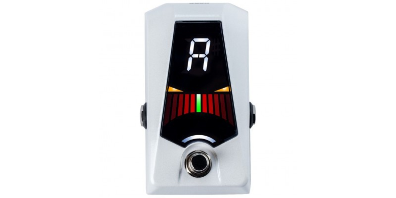 Korg Pitchblack Advance Limited Edition Pedal Tuner White Front