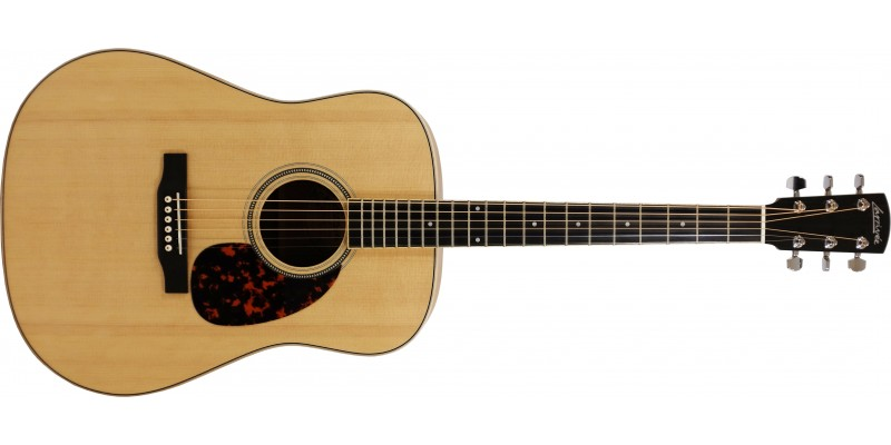 Larrivee D-03Z Zebrano Special Edition Dreadnought Front