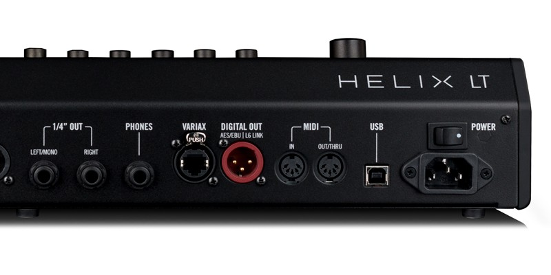 Line 6 Helix LT Streamlined HX Guitar Processor