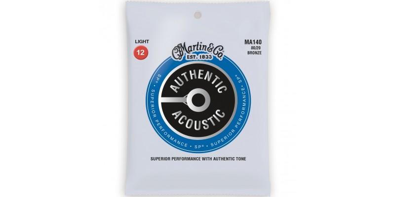 Martin MA140 Authentic Acoustic SP 80/20 Bronze Light