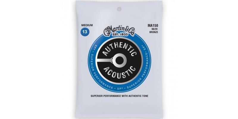 Martin MA150 Authentic Acoustic SP 80/20 Bronze Medium