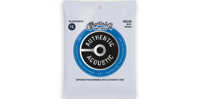 Martin MA240 Authentic Acoustic SP 80/20 Bronze Bluegrass
