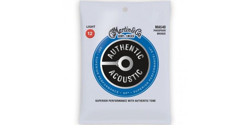 Martin MA540 Authentic Acoustic SP Phosphor Bronze Light