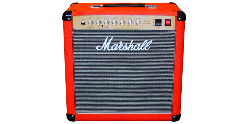 Marshall 2525C Mini Jubilee Design Store Red with Black/Grey Fret Front