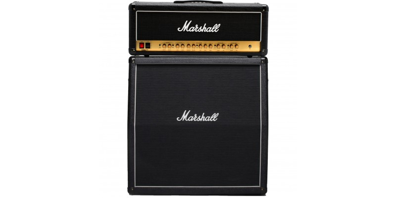 Marshall-DSL100HR-With-MX412A-Half-Stack-Package-Front