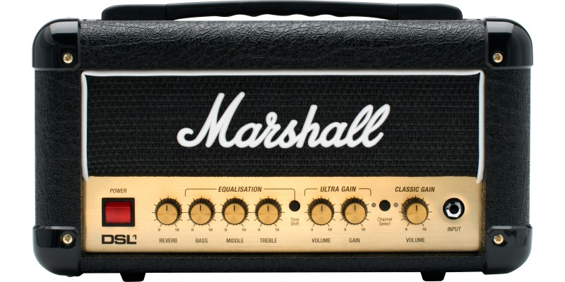Marshall DSL1 Head Amplifier Front