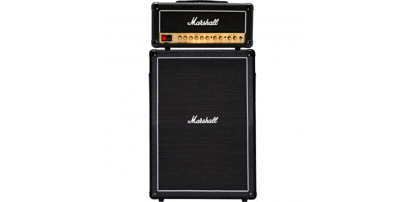 Marshall DSL20HR With MX212AR Half Stack Package