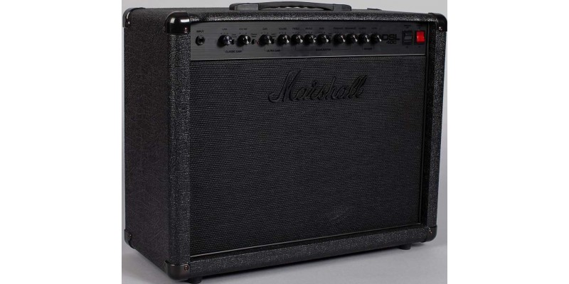 marshall dsl40cb pitch black combo guitar amp. Black Bedroom Furniture Sets. Home Design Ideas