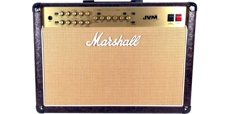 Marshall JVM205C Combo Brown Country Western UK - Merchant City ...