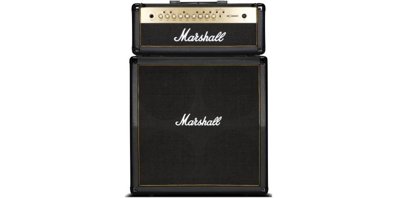 Marshall MG100HGFX Amp Half Stack Package With FREE Stompware Footcontroller Front