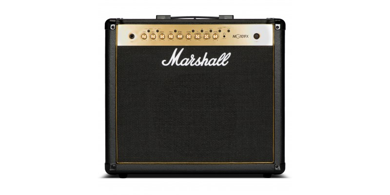 Marshall-MG101GFX-Combo-Amplifier-Front