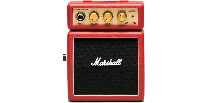 Marshall MS2R Mini Amp in Red