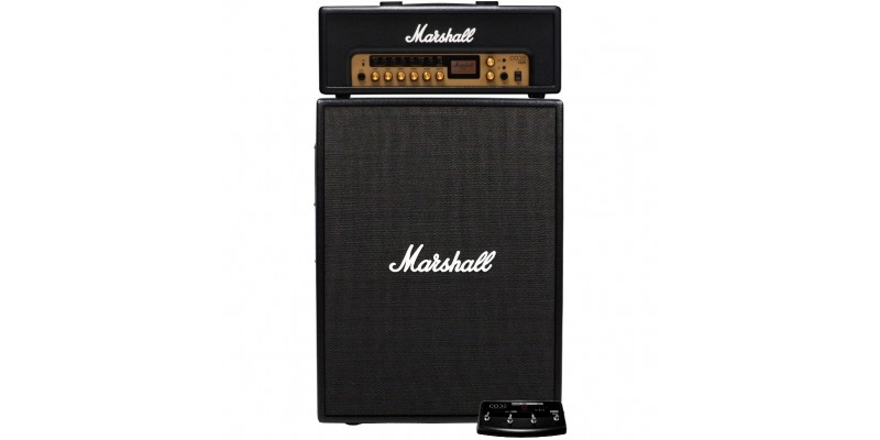 Marshall CODE100H with CODE212 Half Stack Deal inc Footcontroller