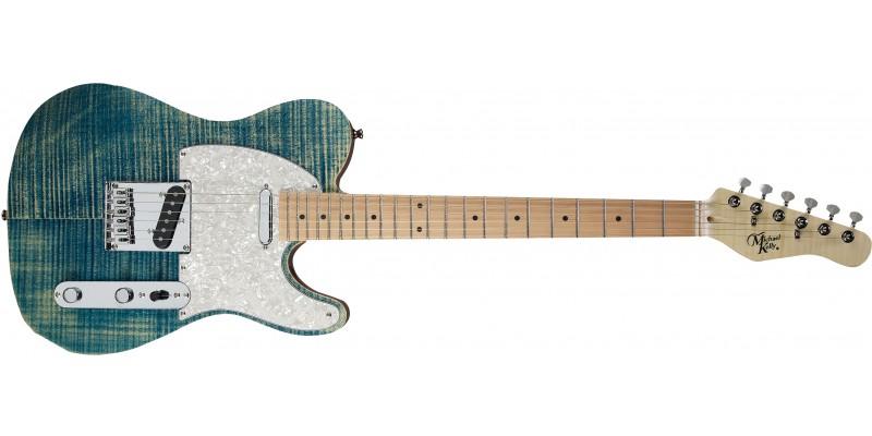 Michael Kelly 1953 Guitar Blue Jean Wash Maple Fretboard