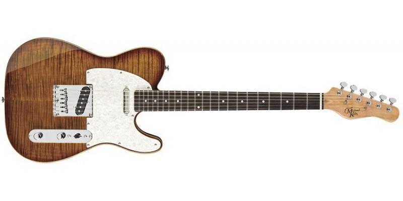 Michael Kelly 1953 Guitar in Caramel Burst