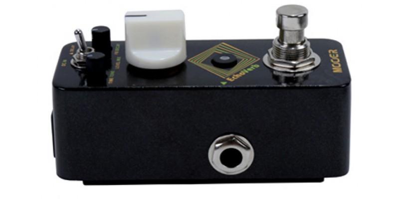mooer echo verb delay reverb pedal mrv4 guitar effect. Black Bedroom Furniture Sets. Home Design Ideas