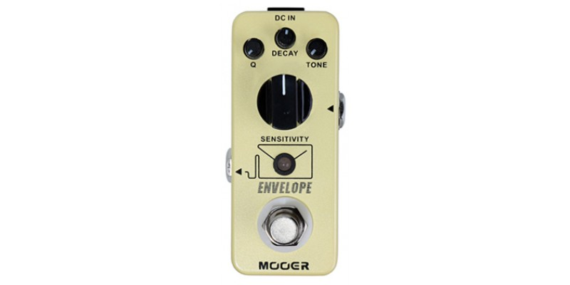 MOOER Envelope Auto Wah MAW2 Guitar Effects Pedal Top