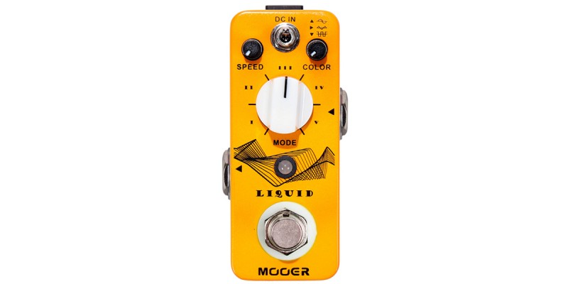 MOOER Liquid Digital Phaser Pedal MPH2 Guitar Effect Top
