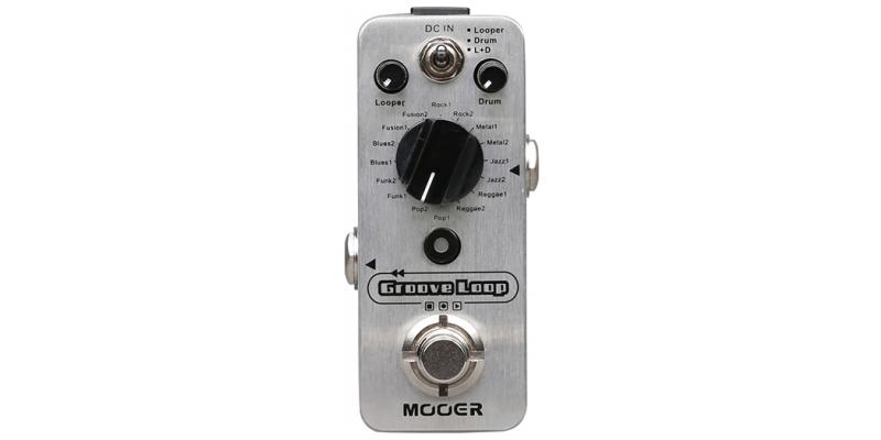 MOOER-MLP2-Groove-Loop-Drum-Machine-And-Looper-Front