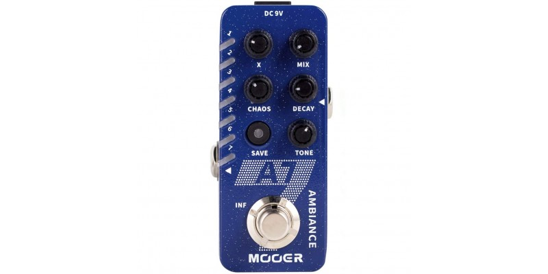 MOOER A7 Ambience Reverb Pedal Front