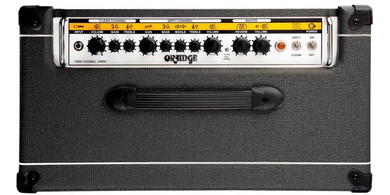 orange crush cr60c black guitar amp combo. Black Bedroom Furniture Sets. Home Design Ideas