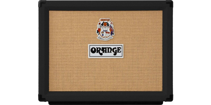 Orange Rocker 32 Black Combo Valve Guitar Amp Front