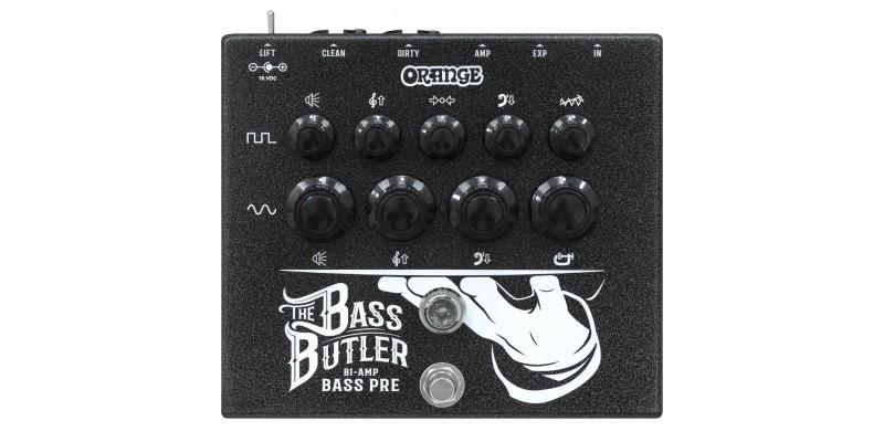 Orange Bass Butler Bi-amp bass preamp pedal Front