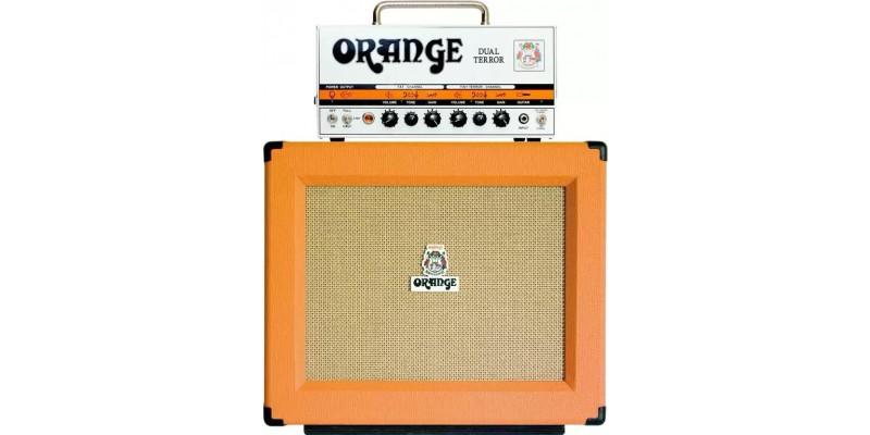 Orange Dual Terror PPC112 Half Stack Amp Package
