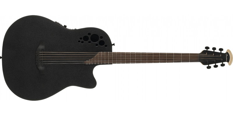 Ovation DS778TX-5 Mod TX D Scale Mid Depth Black Textured Front