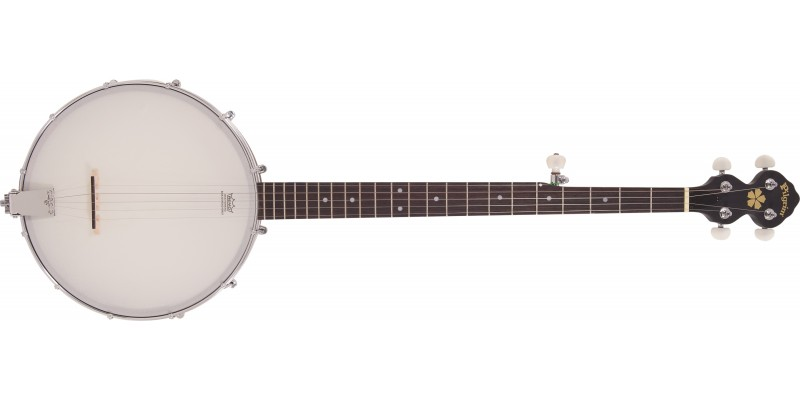 Pilgrim Progress VPB12 Open Back 5-String Banjo Front