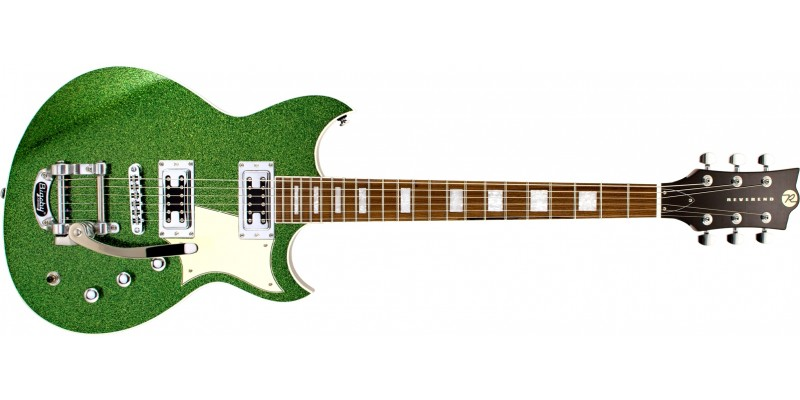 Reverend-2019-Limited-Edition-Sensei-RT-Bigsby-Lime-Sparkle-Front