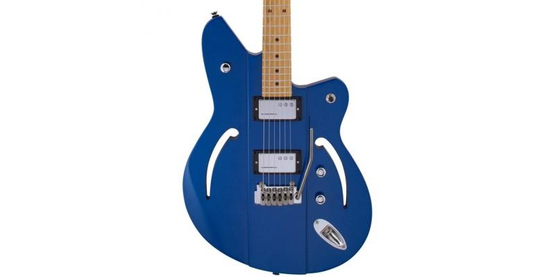 Reverend Airsonic Hc Superior Blue Roasted Maple Neck