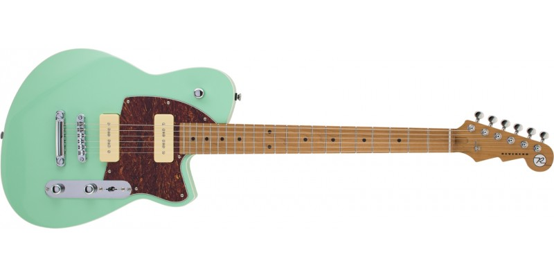 Reverend-Charger-290-Oceanside-Green,-Roasted-Maple-Front