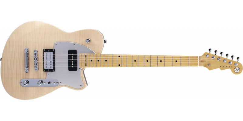 Reverend Double Agent OG 20th Anniversary Natural Flame Maple