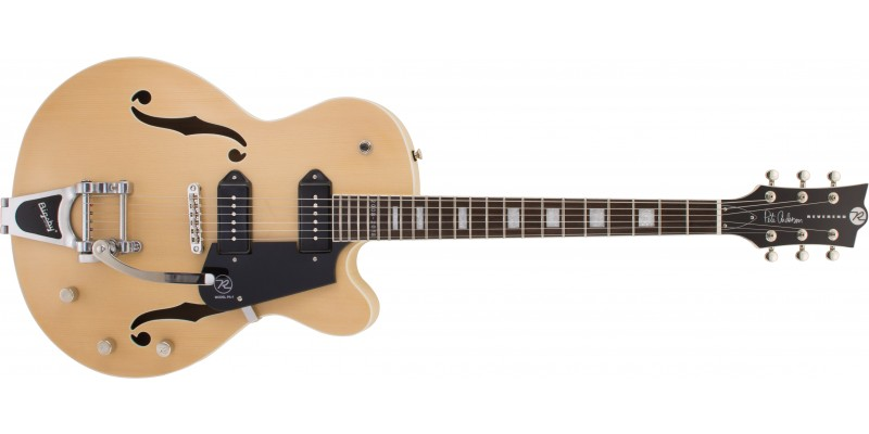 Reverend Pete Anderson PA-1 10th Anniversary Satin Natural Front