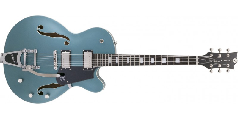 Reverend Pete Anderson PA-1 HB Custom Satin Deep Sea Blue Front