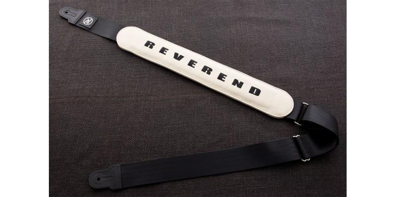 Reverend Padded Guitar Strap Cream Main