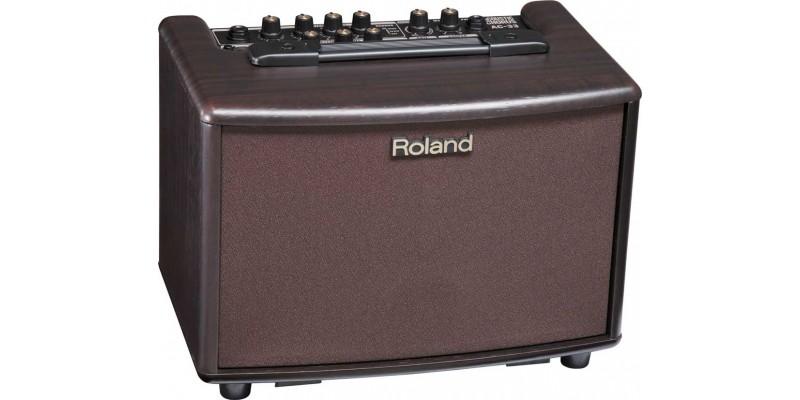 roland ac 33 rosewood acoustic chorus combo amp uk. Black Bedroom Furniture Sets. Home Design Ideas