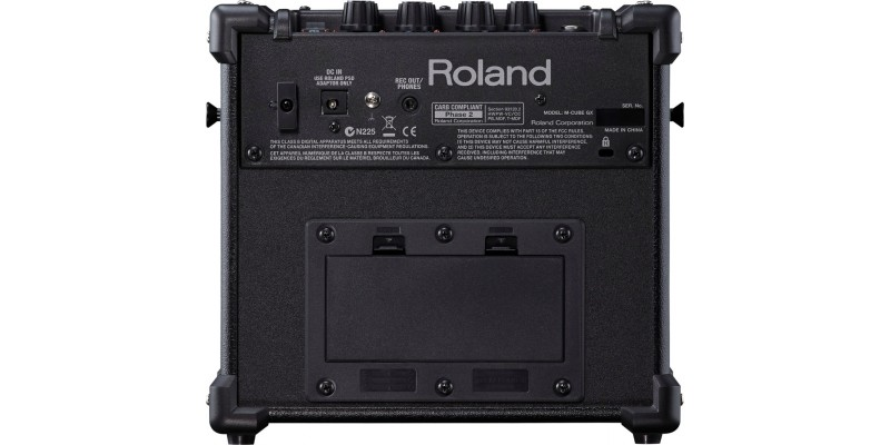 roland micro cube gx portable guitar amp black. Black Bedroom Furniture Sets. Home Design Ideas