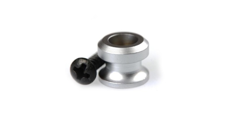 Schaller Strap Button for Security Locks Satin Chrome