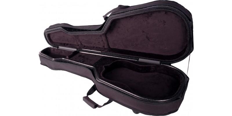 tric deluxe parlour guitar case merchant city music. Black Bedroom Furniture Sets. Home Design Ideas