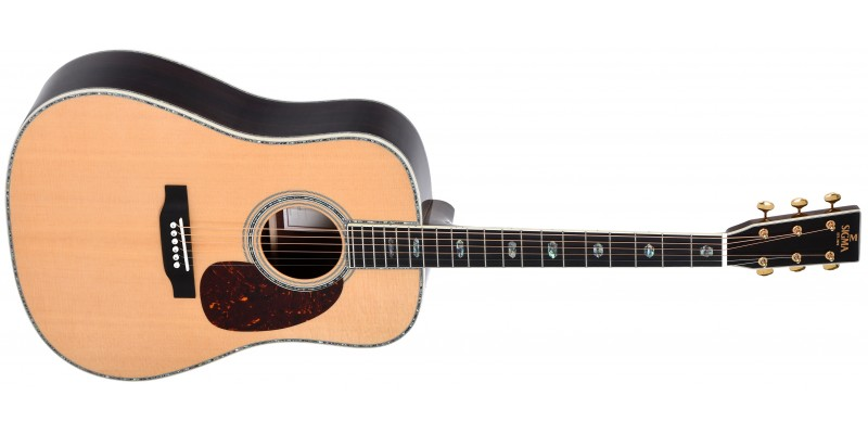 Sigma SDR-45 All-Solid Dreadnought Front